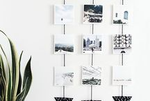 Photo hanger / Way to hang photos