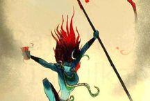 Indian Deities / Awesome modern interpretations of Indian deities.