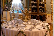 Russian Table Setting and China