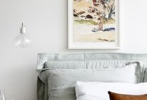 bedroom / let sleeping dogs lie