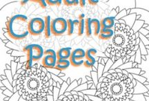 Coloring Pages / by Bonnie Merchant