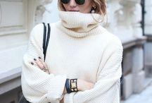 Maxi Sweaters - Inspiration
