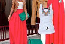 Combinaciones moda