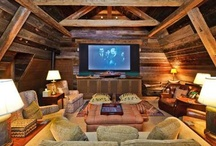 Crazy Home Theaters / Some home theaters, including some we feature in our homes, that are just simply irresistible!