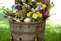 Creative Wine Barrel Ideas / What better way to show you are a recovering alcoholic than reusing that wine barrel.