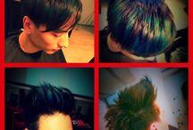 Men's hairstlying