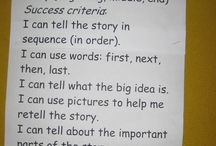 Learning Goals/success criteria / by Kelly Lynch