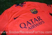 2014-15 La Liga Jerseys