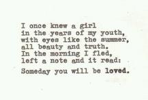...Words...