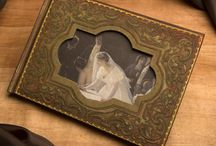 Figments Studio Gifts and Decor / New for 2015, we've added these two beautiful keepsakes to our collection. Both are inspired by embossed leather cases from antique photography.