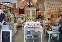 Booth ideas / Mother and daughter fleamarket booth ideas in Walnut Ridge Arkansas. Peacci'tique.