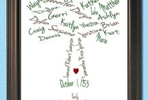 Family trees / by Linda Damesworth Walker
