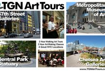 EVENTS / TGNArtTours offers unique and entertaining Walking Art Tours. This APRIL, explore NYC's great museums and wonderful historic art districts with Artist-Guides. Learn how to sketch and color with your Smartphone, Tablet. For more details: http://tgnarttours.com/ (Ask about Group Rates.) / by Jeffrey Wiener