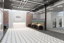 Входные зоны/ Входные группы/ МОП / Входная зона здания – его визитная карточка, она способна повлиять на решение потенциальных покупателей о приобретении квартиры. При проектировании мы создаем пространство, в котором гостям и жителям дома  будет комфортно, учитывая множество факторов: визуальную привлекательность, правильное зонирование, грамотное освещение...