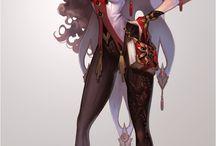 Character Design_woman