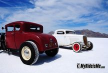 Bonneville Hot Rods / Hot Rods From Bonneville Speedway in Utah / by carissa hall