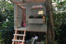 Kids cubby house ideas