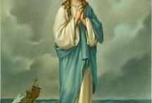 Virgen María estrella  del mar