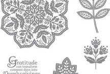 Cards SU- Days of Gratitude / by Debbie Forney