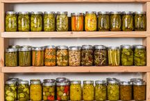 Canning and Preserving - food storage