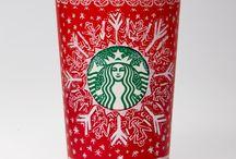 Starbucks cups through the years