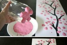 spring crafts (also mather's day crafts)