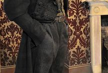 Victorian men clothing