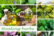 Herbs For Treating Common Ailments / This Ebook will provide many natural remedies for common ailments that we deal with everyday. Ebook with downloadable file.