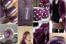 purple and plum