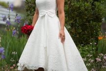Vintage Style Wedding Dress - No Sleeves
