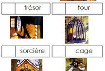 Ecole : Sac à album Hansel et Gretel