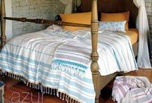 Bedroom by Pestemal / Bed Covers, Bedroom deco ideas, pestemals in bedrooms