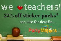 Sales Promotions / Here you will find our current sales on our partymajors.com site. Follow us on Facebook to get advance notice of sales.