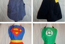 Super cool aprons