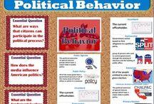 TpT 7 Political Behavior (CIVICS) / Teaching strategies for Political Behavior for secondary CIVICS/U.S. Government