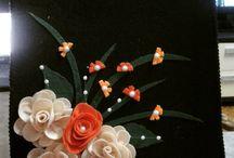 gül çiçekli canta