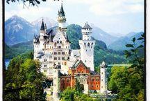 Castle road Germany / Burgenstrasse