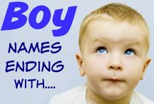 Boy Baby Names Ending With.... / Baby boy names ending with... that includes meanings, origins, popularity, pronunciations, sibling names, and more! #babynames