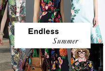 """TRENDS RESORT 17 """"endless summer"""""""