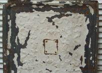 antieke plafond plaat zink