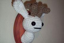 Amigurumi / Os personagens favoritos em crochê, fáceis de fazer. Idéias de acabamentos e como fazer