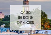 Charleston Attractions / The best things to do, see, and explore when traveling to Charleston, South Carolina! See them all: http://www.ruebarue.com/charleston