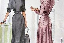 fashion 1940 mood board
