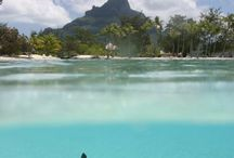 Bora Bora, Moorea, Rangiroa / French Polynesian Islands