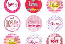 love stickers