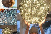 glowing garden basket chandelier