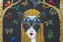 Mosaic / brilliant works of art