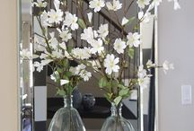 Interior Style with Flowers / Contemporary