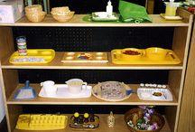 Montessori Homeschool Classrooms / by Deb @ Living Montessori Now
