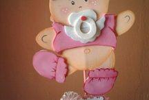 Brindes Baby chá EVA